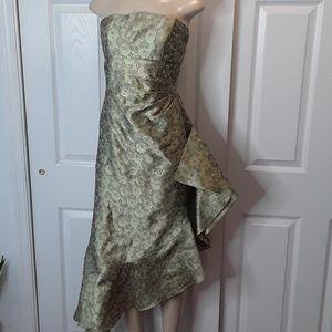 Kay Unger Silk Mermaid Dress